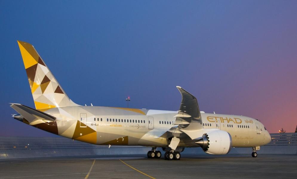 Ethihad Boeing 787 Dreamliner