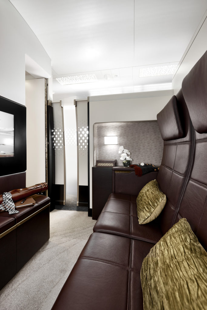 Etihad first class flights