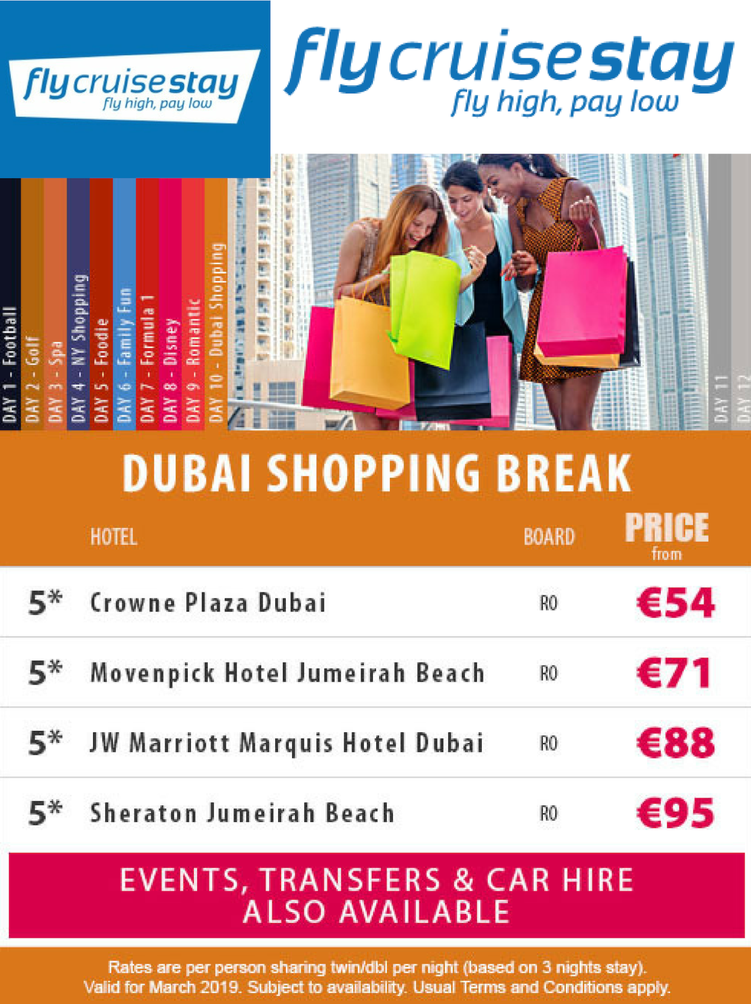 Dubai shopping breaks