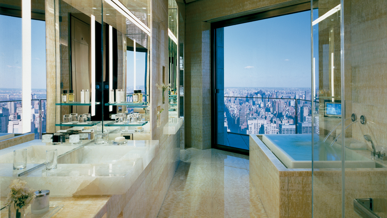 Ty Warner Penthouse Bathroom