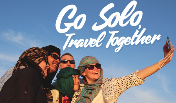 Solo travel adventure tours