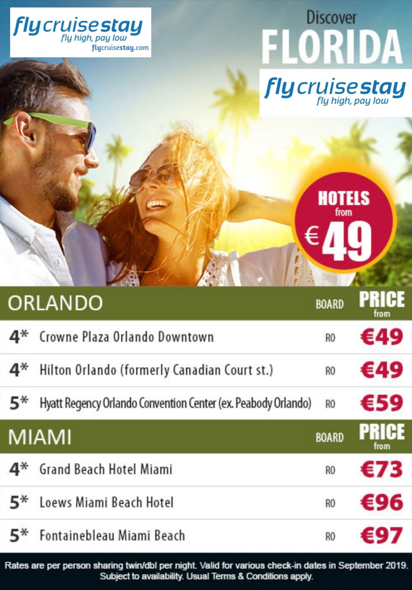 Orlando and Miami Hotel Deals