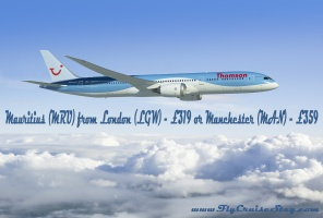 Thomson Mauritius fares