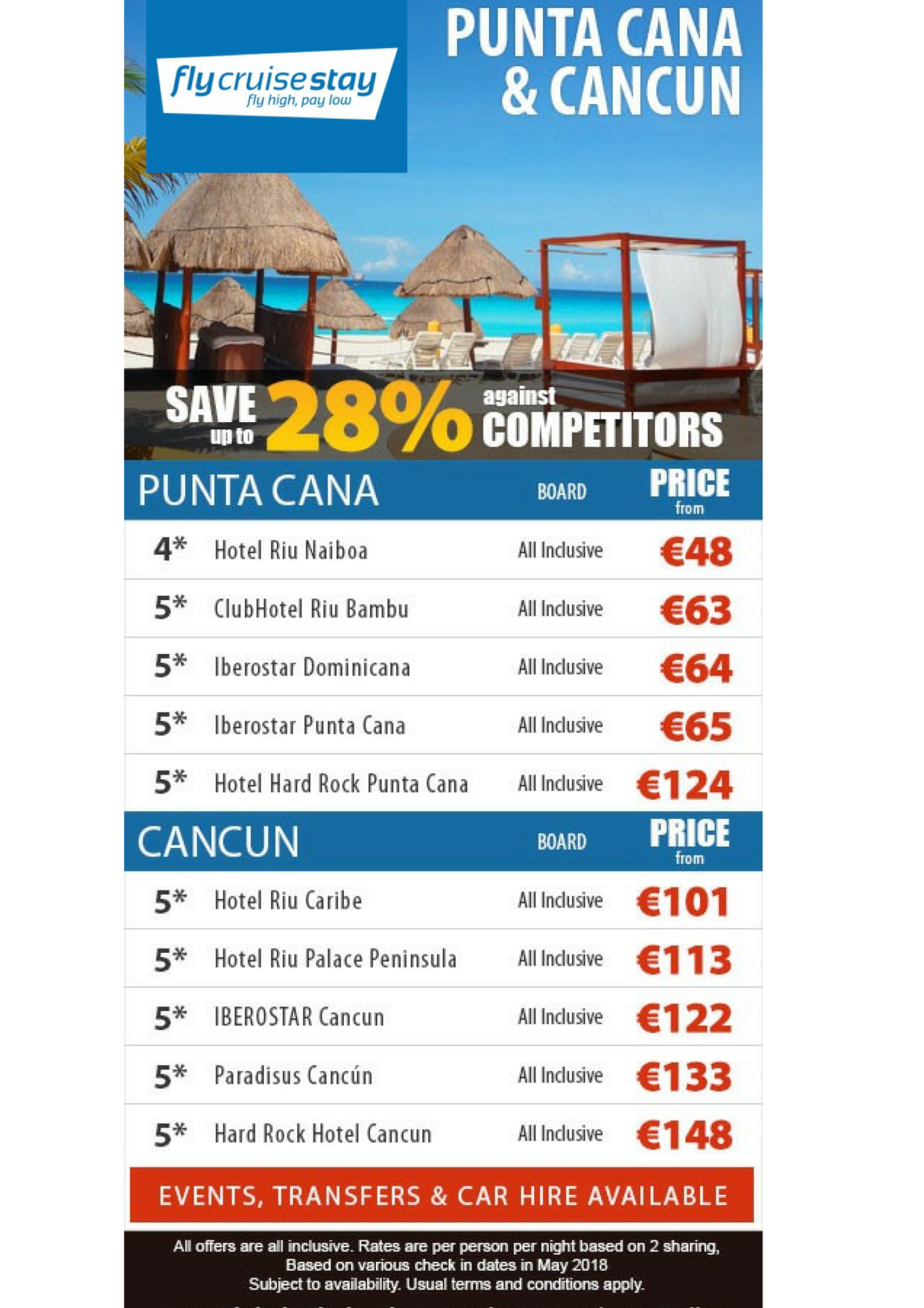 Cancun & Punta Cana Resort Deals