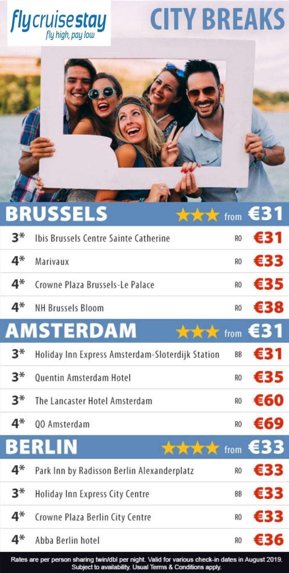 European Hotel City Breaks