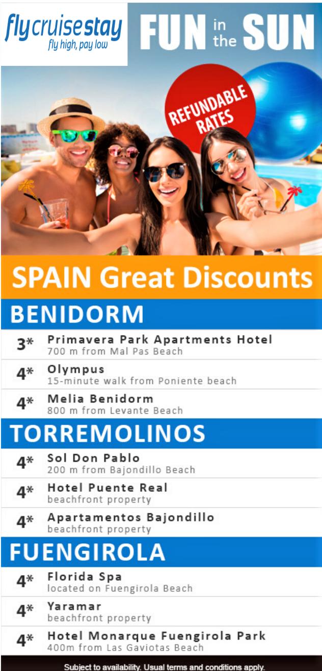 Spanish Hotel Deals