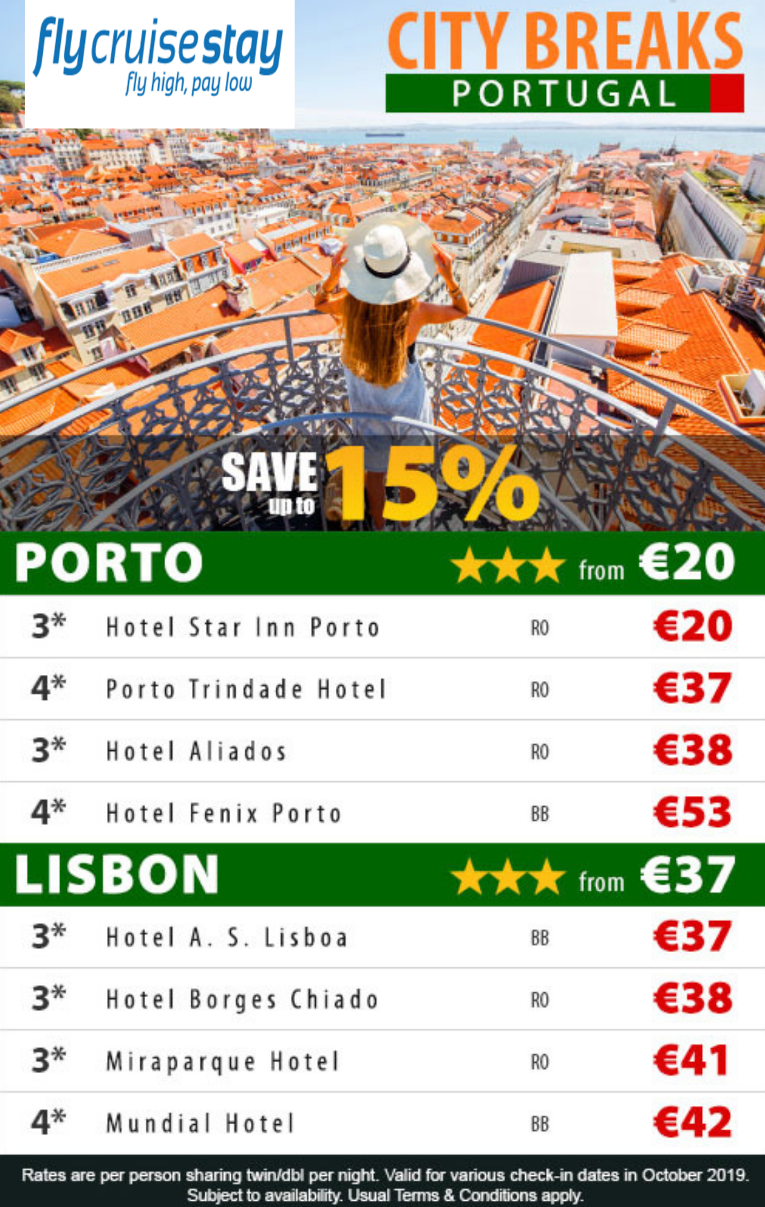 Lisbon and Porto Hotels