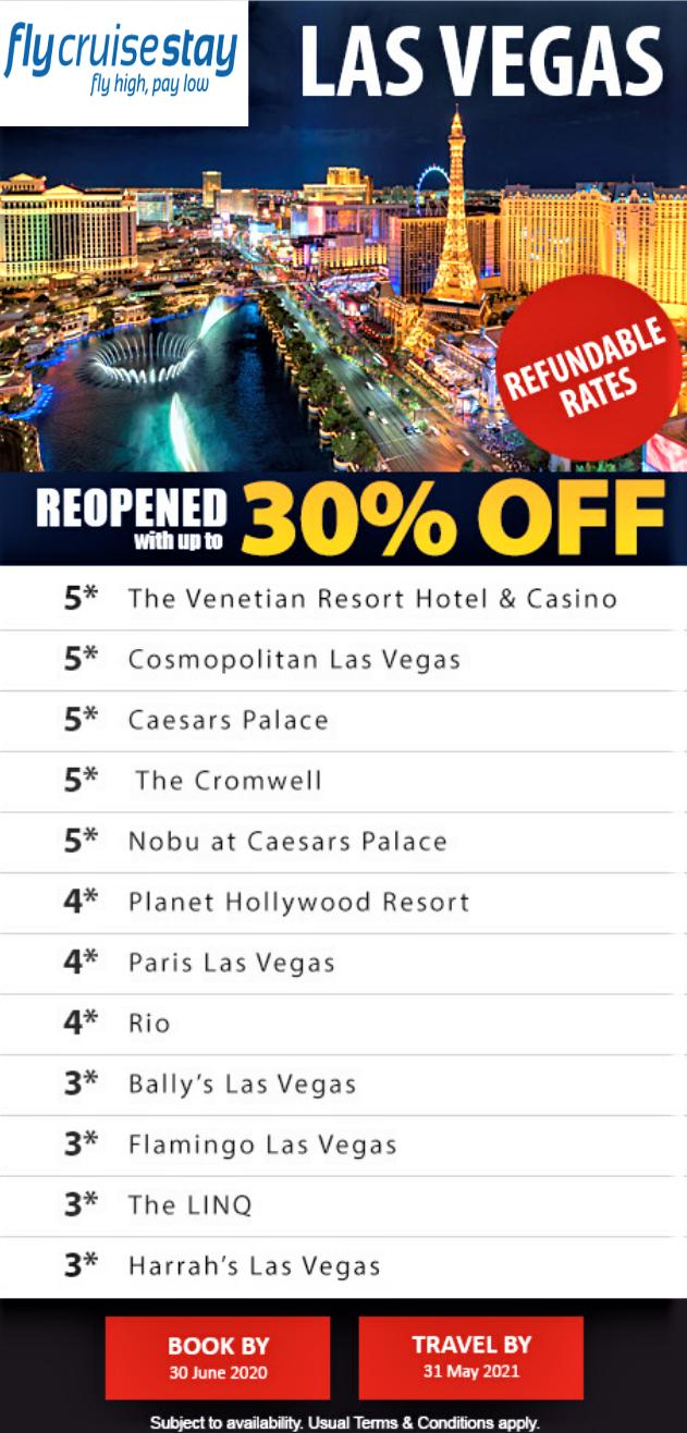 Vegas Hotel Deals