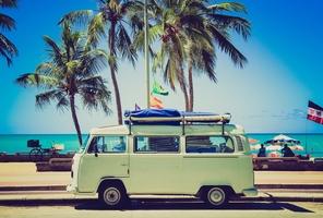 Volkswagen camper van travel