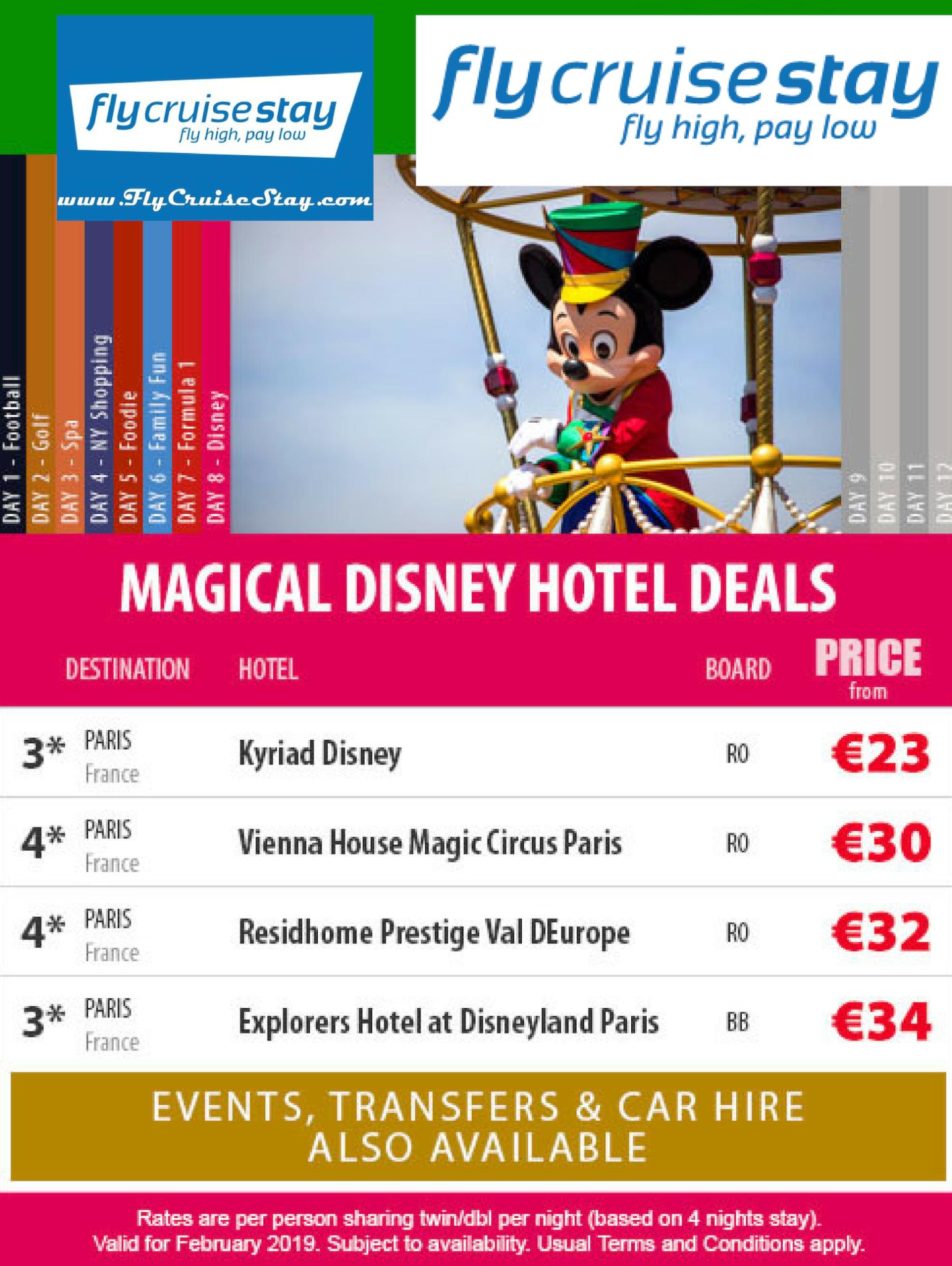 Disney Paris Hotels
