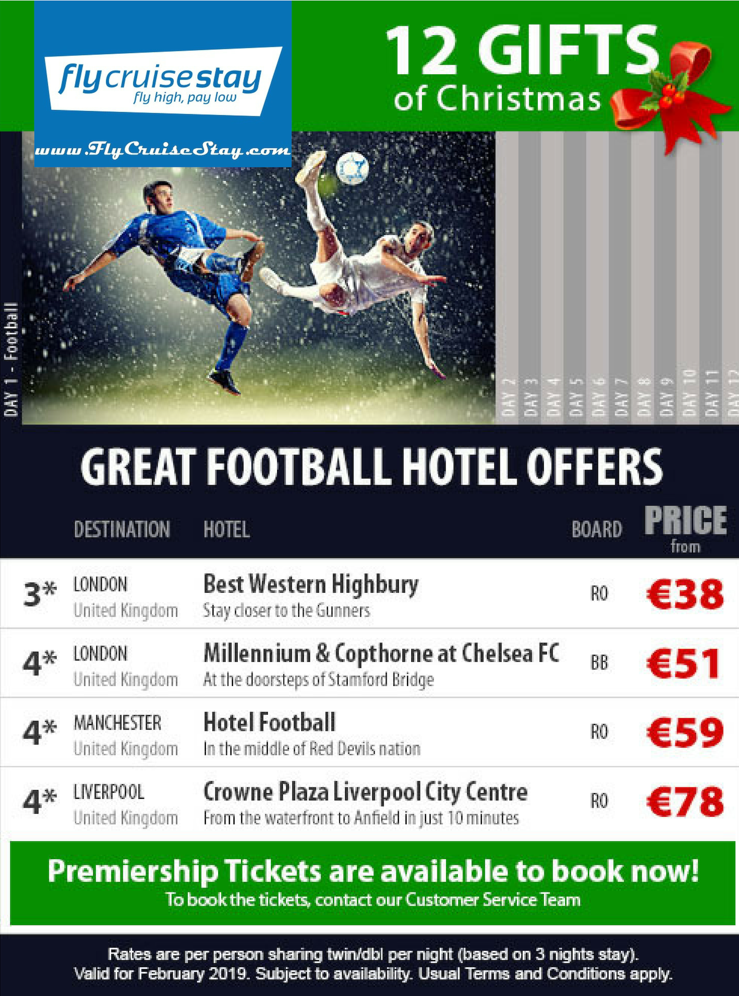 Best Football Hotels