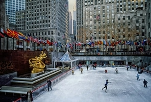 Rockefeller Plaza New York City