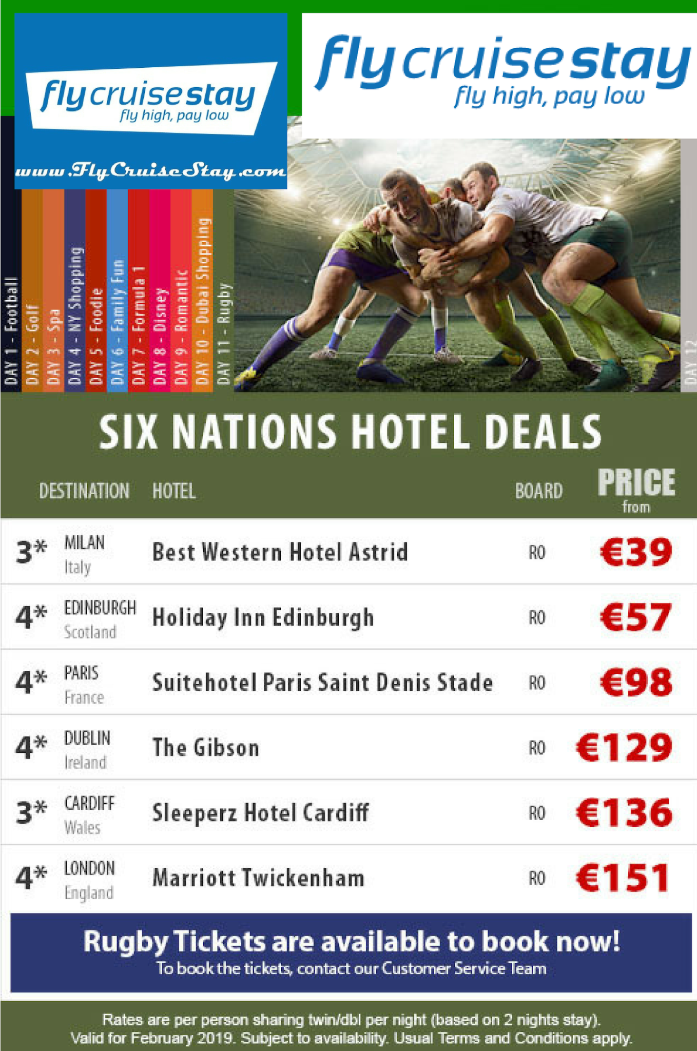 Six nations hotels