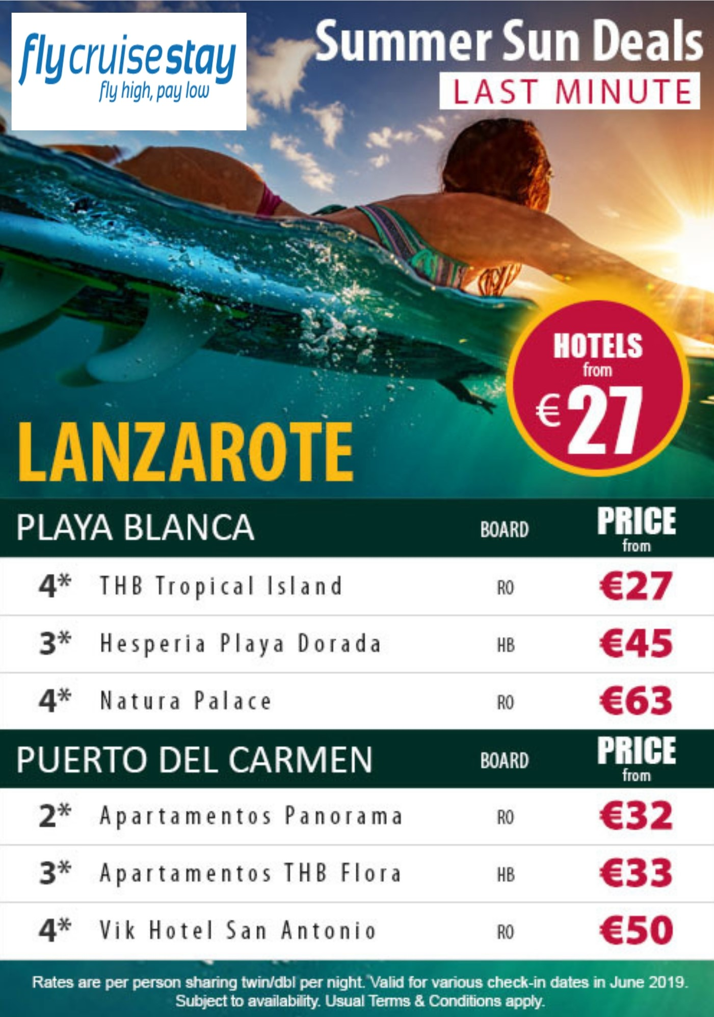 Lanzarote Hotel Offers