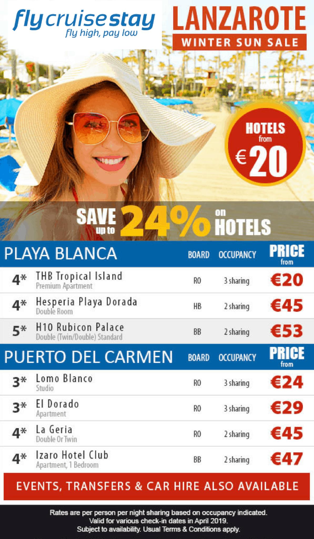 Lanzarote Hotel Deals