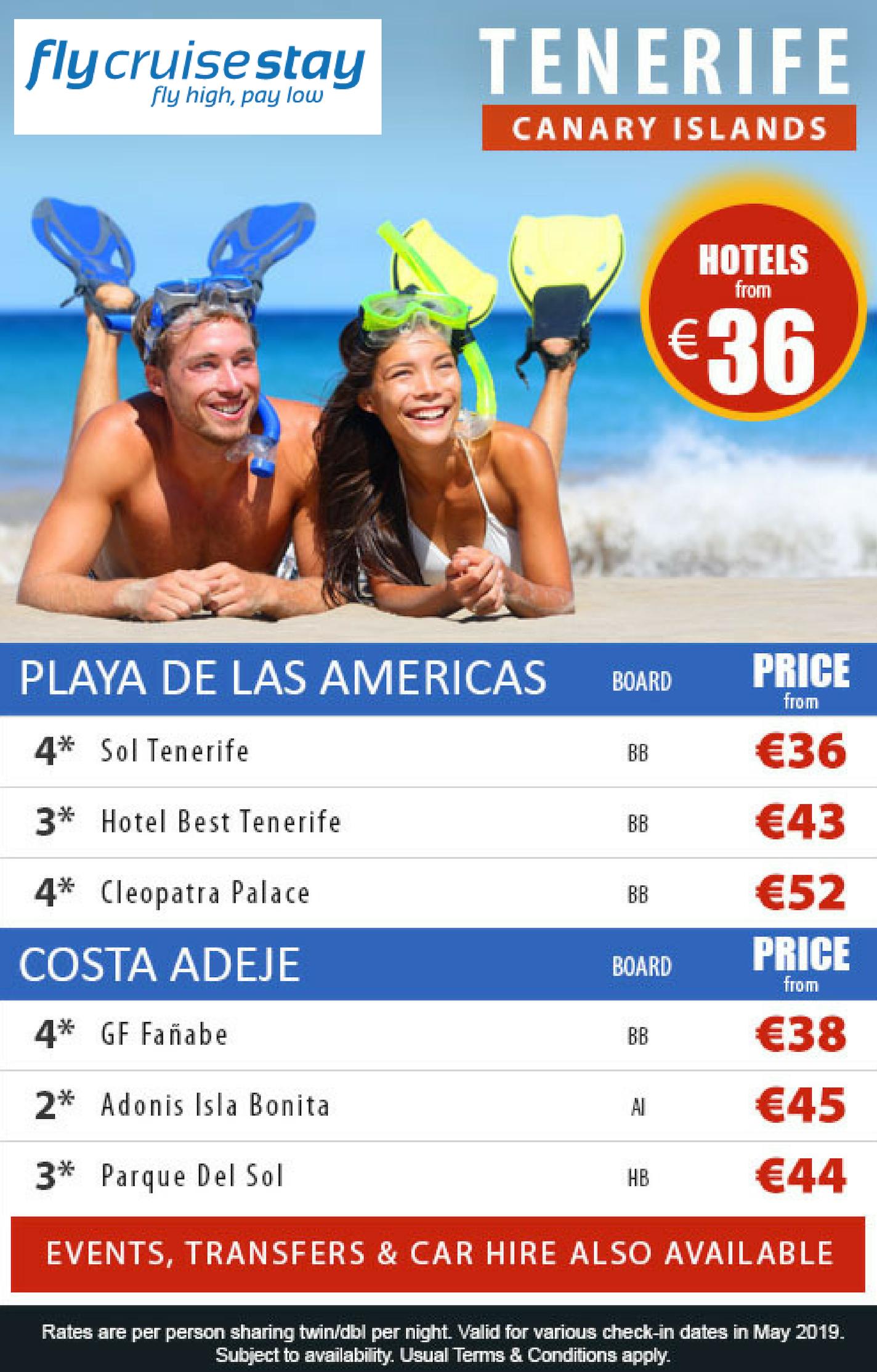 Tenerife Hotel Deals