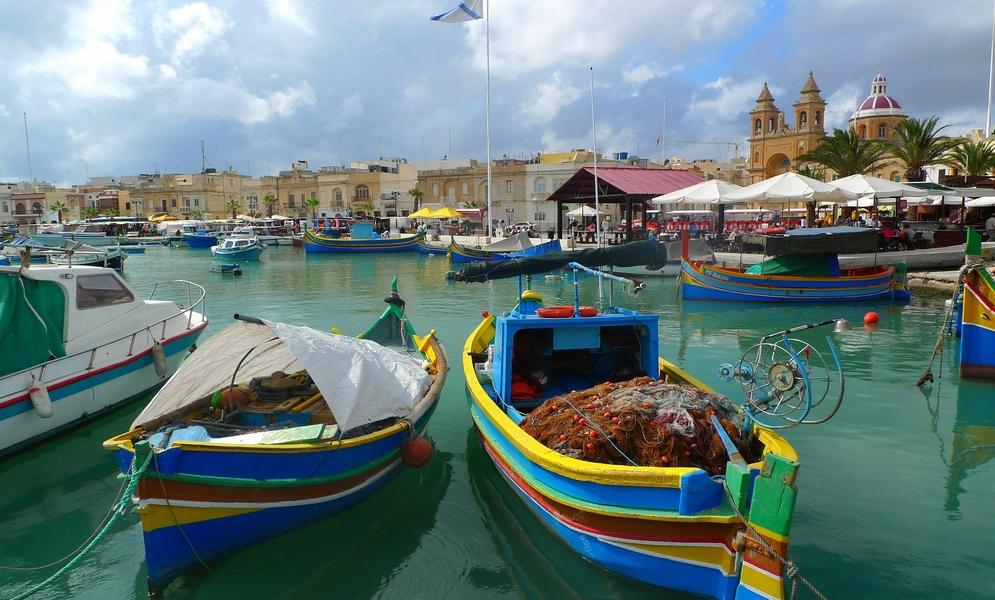 Fishing Boats Malta