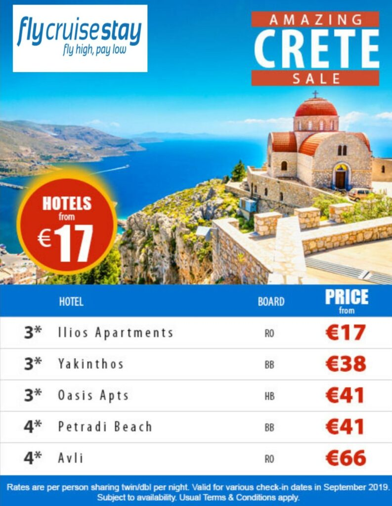 Greek Hotel Deals for September