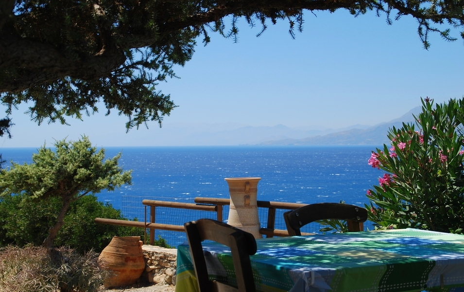 View from the Greek island of Crete