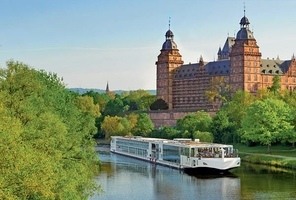 Viking River Cruise Boat