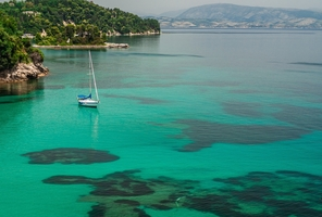 Greek island of Corfu